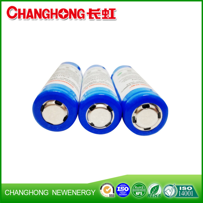 Changhong Lithium Battery 3.7V 18650 High Quality And High Drain Rechargeable Li