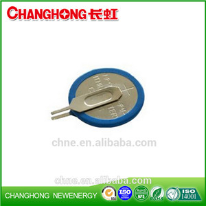 Changhong Hot Sale Button Cell Battery CR1025 3V 30Mah