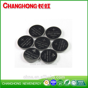 Changhong Hot Sale CR3032 3v 520Mah Lithium Cell Battery