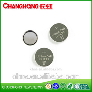 Changhong Hot Sale New Original CR1225 3v 48Mah Lithium Battery
