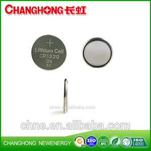 Changhong High Quality Coin Cell Lithium Battery CR1220