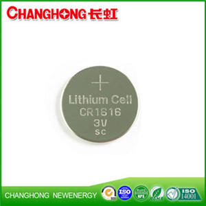 Changhong High Quality CR1616 Lithium Battery CR1616 3v Cell Battery