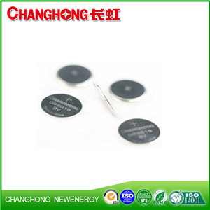 Changhong High Quality CR2016 Lithium Battery CR2016 3v Cell Battery