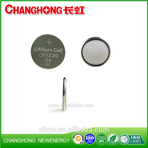 Changhong High Quality Battery Cr1220 Coin Cell Lithium Battery CR1220