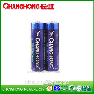 Changhong Super Power Alkaline Changhong Battery LR6 1.5v AA SGS