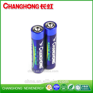 Changhong 1.5v AAA Am4 Lr03 Super Alkaline Battery