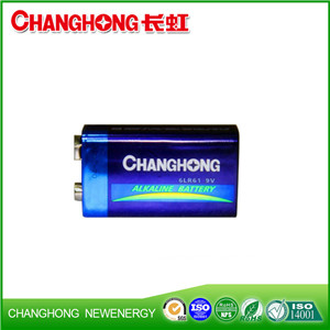 CE High Quality 6LR61 9V Ultra Alkaline Battery Dry Battery
